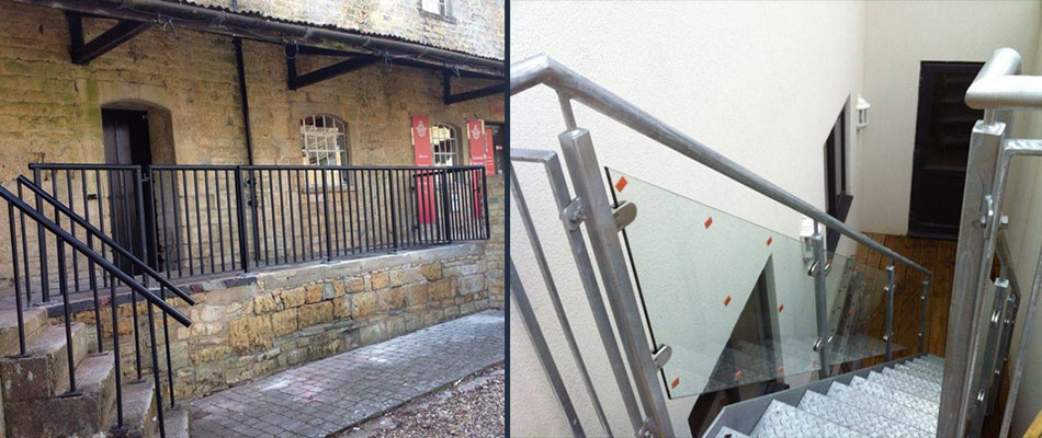 balustrades rails gates